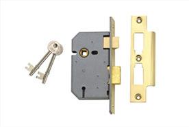 Mortice sash lock