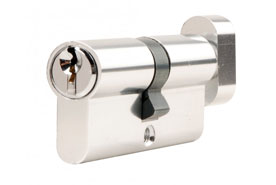 Thumb turn cylinder lock